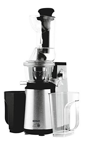 Licuadora Extracción Lenta - Acero INOX - 400 W