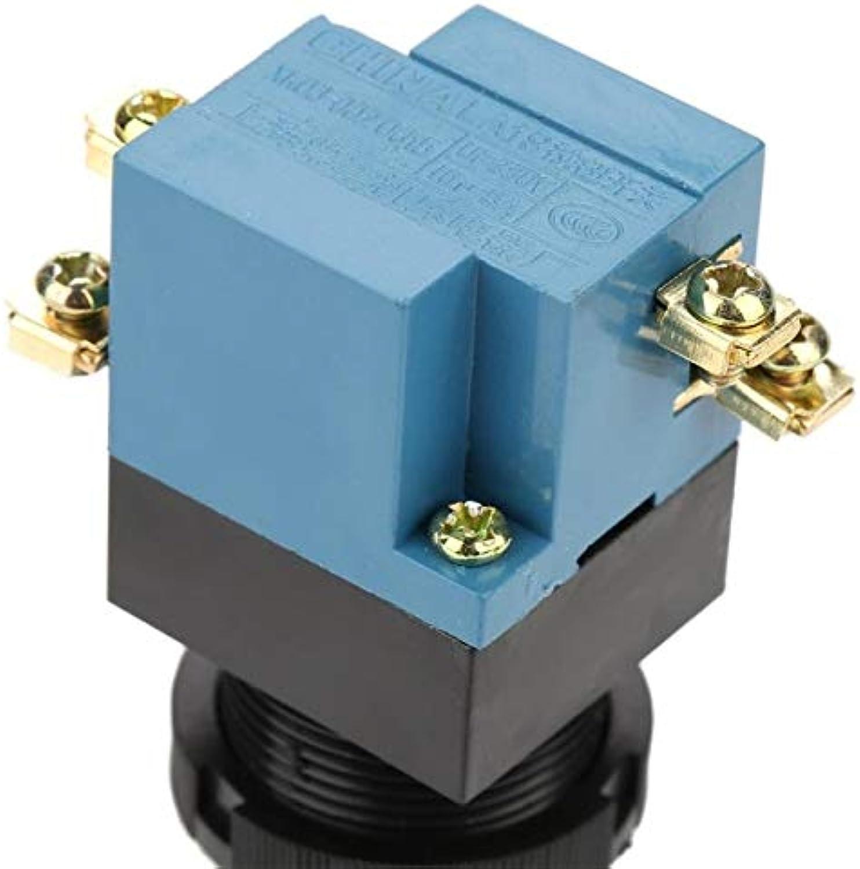 10Pcs Auto Reset Mushroom Push Button Switch 1NO 1NC 25mm Mount LA1911J Switches Functional Fashion  (color  Green)