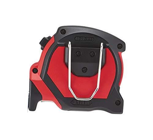 Milwaukee 48227308hp8mg/27Premium cinta métrica Mag–rojo/negro