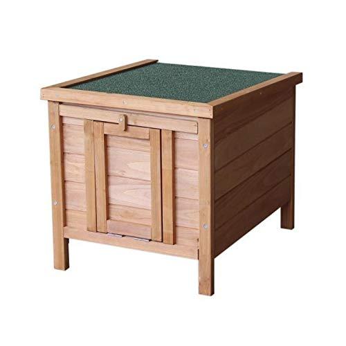 Clapier en bois Pierrot 42x51x43 cm - Pour lapin
