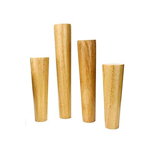ZXL Meubelpoten massief houten steunvoeten, salontafel tv-kast hout sofa tafelpoten kast tafel bed verhoging poten 8 cm ~ 90 cm