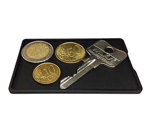 Aviator Wallet Kleingeldfach für Slim Wallets | Münzfach aus Aluminium für Geldbörsen