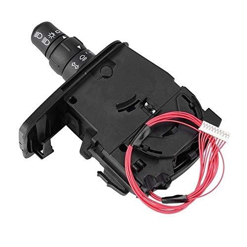 Interruptor de indicador de coche actualizado para Renault Clio Mk3 Modus Kangoo 8201590638 interruptores pulsadores (negro)