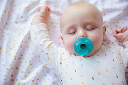 Philips Avent Soothie Pacifier, Green, 0-3 Months, 4 Pack