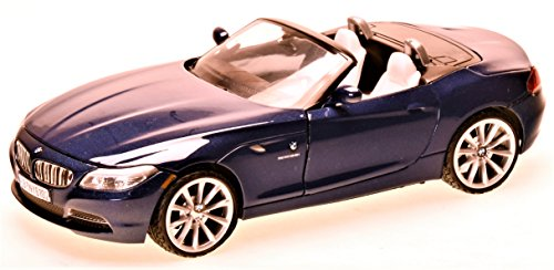 BMW Z4 (E89), met.-blau , 2010, Modellauto, Fertigmodell, Motormax 1:24