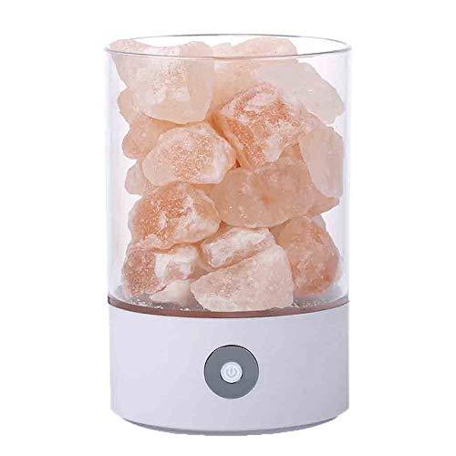 USB Zout Crystal Rock Lamp Goed voor de gezondheid Kleine Minerale Negatieve Ionische Steen Lava Zout Nachtlampje voor Slaapkamer