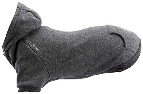 TRIXIE Be Nordic Sweatshirt, XS: 27 cm: 36 cm, Grau, Hund