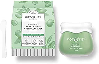 Dot & Key Pollution + Acne Defense Green Clay Mask