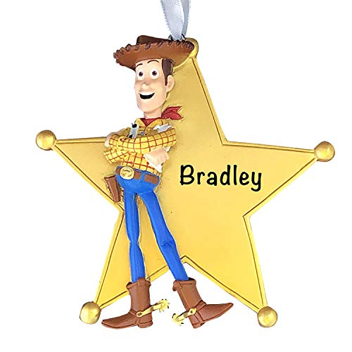 Woody Toy Story 4 Personalized Christmas Ornaments for Kids – Charming 2021 Christmas Ornament for Disney Christmas Tree – Disney Christmas Decorations - Collectible Disney Ornaments