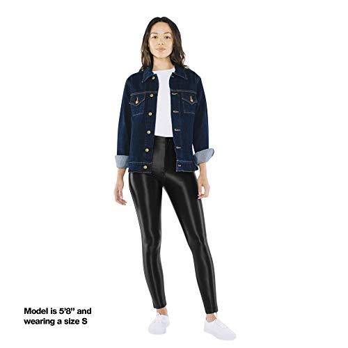 American Apparel Women's The Disco Pant Leggings, Black, S