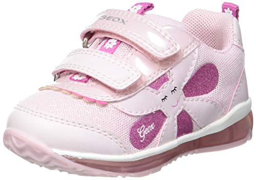 Geox B TODO Girl A Sneaker, PINK, 27 EU