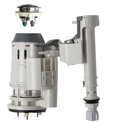 EAGO R-351FLUSH Replacement Toilet Flushing Mechanism for TB351, White
