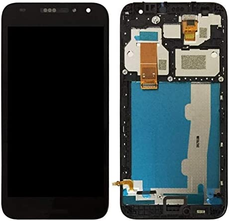 5046D HTTX TENS AYSMG LCD Screen and Digitizer Full Assembly with Frame for Alcatel A3 5046 5046X OT5046 Color : Black Black