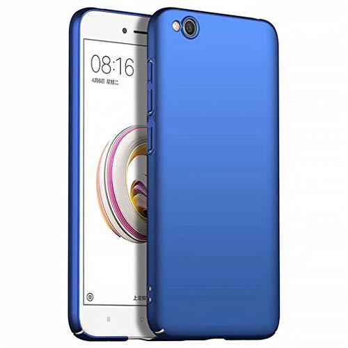 Qsdd Reemplazo para Xiaomi Redmi GO Funda Ultra Thin Anti Scratch Carcasa de Telefono PC Dura A Prueba de Golpes de Silicona Caso-Azul