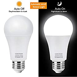 CANAGROW 12W Motion Sensor Light Bulb