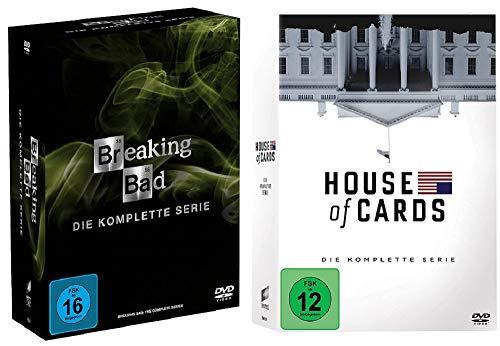 Breaking Bad - Die komplette Serie + House of Cards - Die komplette Serie