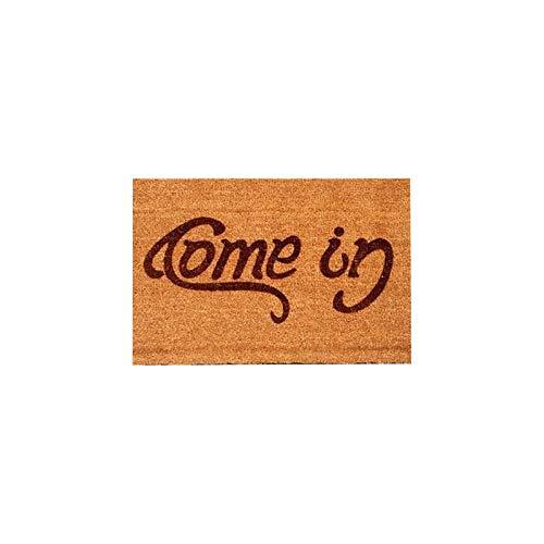 Welcome-Go Away Come In Felpudo ndoor Outdoor Floor Mat Antideslizante 40x60cm Hogar y jardín Textiles para el hogar