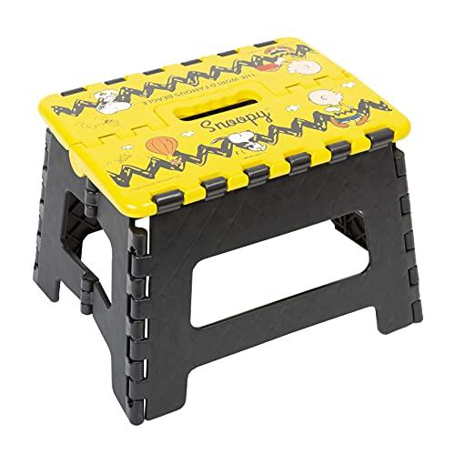 キャラクター 折りたたみ 踏み台 ステップチェア 便利 な 折り畳み チェア (スヌーピー A)