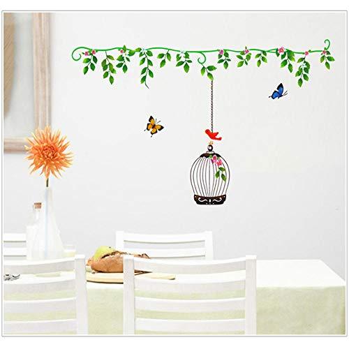 Koeldeer Vogelkooi Vlinder Verwijderbare Slaapkamer Woonkamer Slaapbank Badkamer Glas Studie Hoek Decoratieve Muurstickers