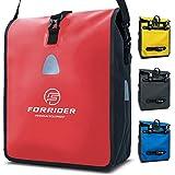 Forrider Fahrradtasche für Gepäckträger Wasserdicht Reflektierend I 22L Gepäckträgertasche |...