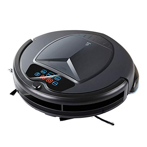 Great Price! Robot Vacuum Cleaner for Home Wet Mop Washing Automatic Sweep Dust Sterilize Smart Plan...