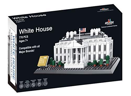 Apostrophe Games White House - Bloques de construcción (770 unidades)