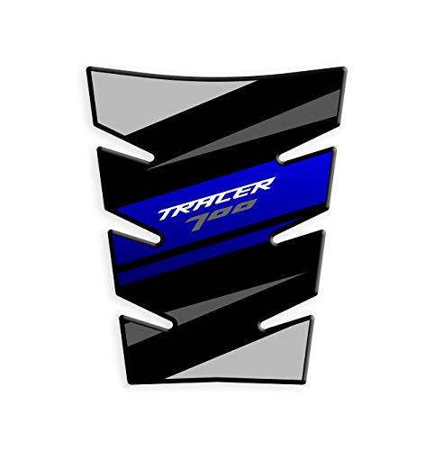 Protector DE DEPÓSITO TANKPAD Resina 3D Compatible con Yamaha Tracer 700 2020 GP-658 (Blue)