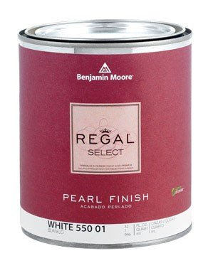 Benjamin Moore Regal Select Interior Pearl Paint Pearl Finish White 1 Qt