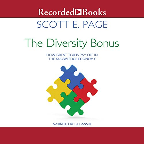 The Diversity Bonus audiobook cover art