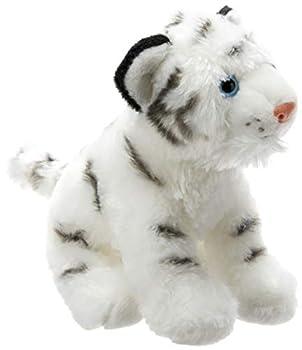 Wild Republic White Tiger Plush Stuffed Animal Plush Toy Gifts for Kids Cuddlekins 8 Inches,Multicolor