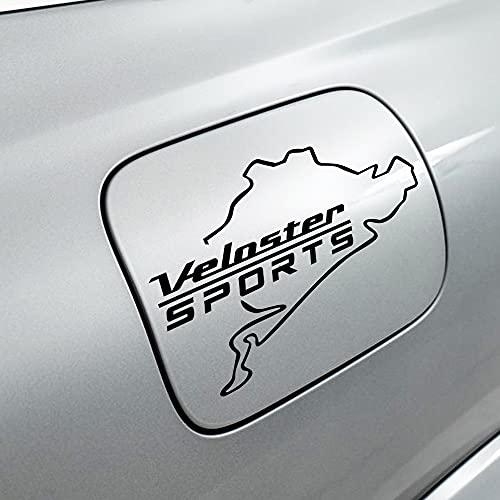 Etiquetas Engomadas De La Tapa Del Tanque De Combustible 1pcs, Etiqueta Engomada Decorativa De Modelado, Autopartes, Para Hyundai Veloster