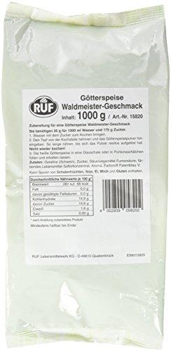 RUF Götterspeise Waldmeister, 1er Pack (1 x 1 kg)