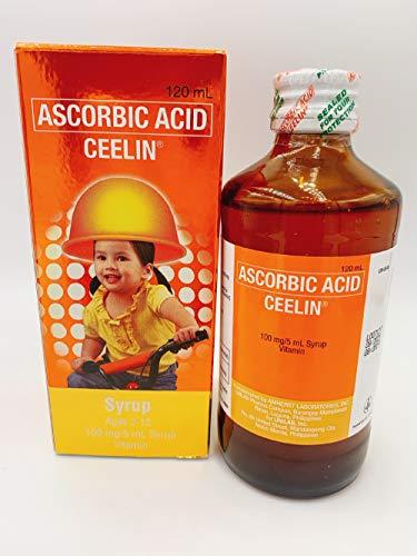 Ceelin Ascorbic Acid Syrup 120ml