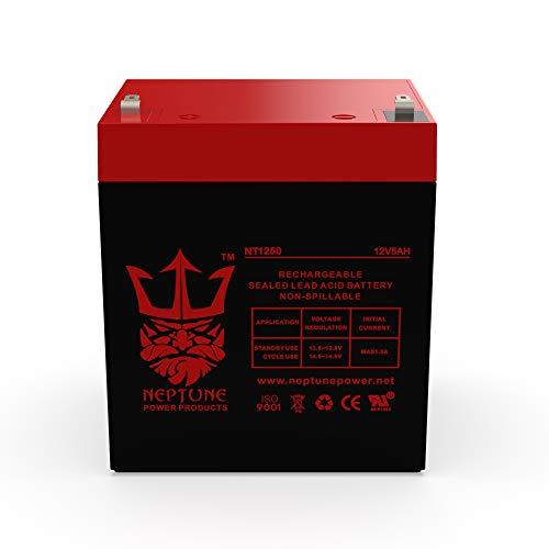 Liftmaster 485LM 12V 5Ah SLA Replacement Garage Door Opener Battery by Neptune