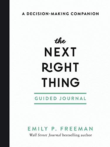 Next Right Thing Guided Journal