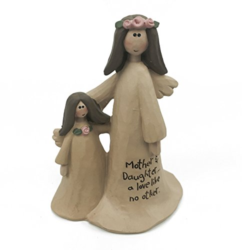 Mother & Daughter A Love Angel Ornament Cute Sentiment Gift