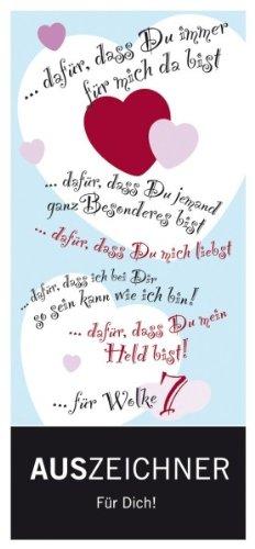 Schokolade Liebe Auszeichner für Dich, Meybona, 100 gr. Tafel