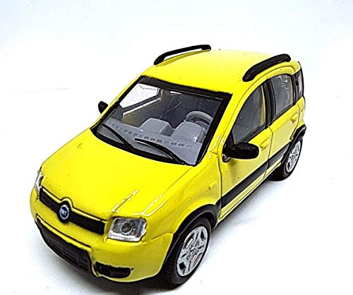 Generico NewRay Fiat Panda 4x4 2006 Color Amarillo 1:43