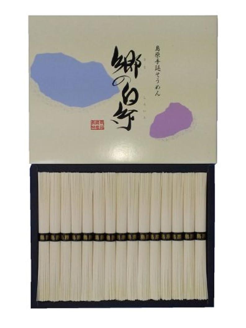 意見胆嚢その島原手延素麺 郷の白糸 1500g (50g×30束)