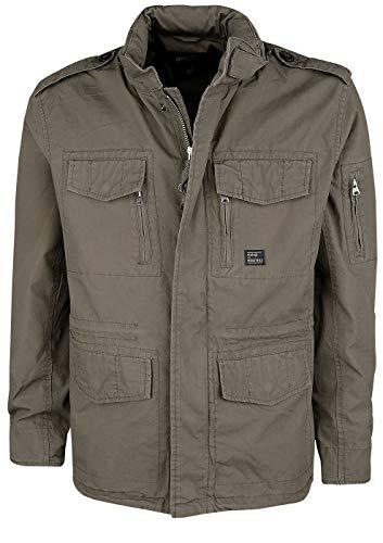 Vintage Industries Cranford kurtka męska przejściowa czarna Basics