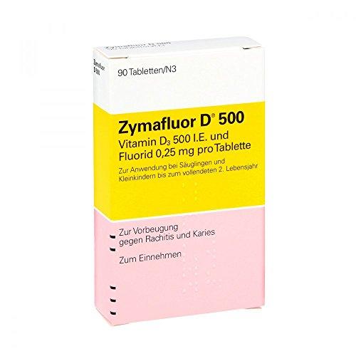 Zymafluor D 500 Tabletten, 90 St