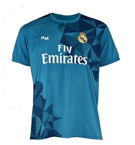 Real Madrid Ronaldo – Camiseta de fútbol para Hombre, Azul – 2XL