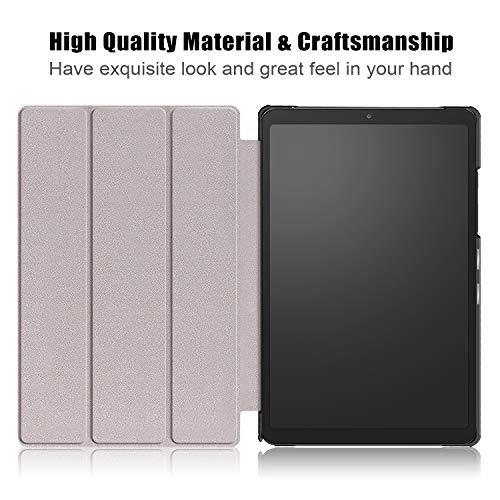 XTstore Hülle für Samsung Galaxy Tab A7 2020 (SM-T500/SM-T505/SM-T507) Tablet Standfunktion Slim PU Leder mit Auto Schlaf/Wach Funktion Smart Schutzhülle Cover Case Tasche