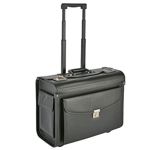 Pilotenkoffer, Aktenkoffer, Businesskoffer, Reisekoffer mit Trolleyfunktion