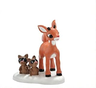 Department 56 North Pole Rudolph The Red Nosed Reindeer Series She Said I'm Cute Christmas Figurine #4025287
