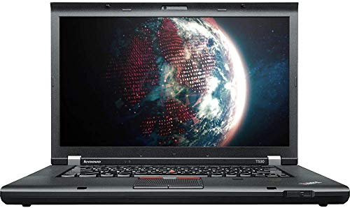 Lenovo ThinkPad T530 15.6-inch HD Notebook, Intel Core i5-3320M @ 2.60GHz (up to 3.30GHz), 8GB RAM, 128GB SSD, Windows 10 Pro