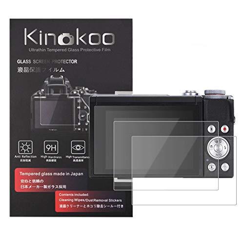 kinokoo 液晶保護フィルム CANONデジタルカメラ PowerShot G7X Mark3専用 硬度9H 高透過率 耐指紋 気泡無し...
