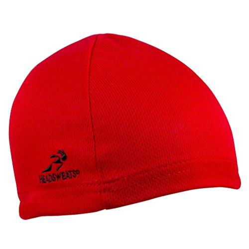 Headsweats Scullcap Beanie Laufmütze, Rot, One Size, 8804 803
