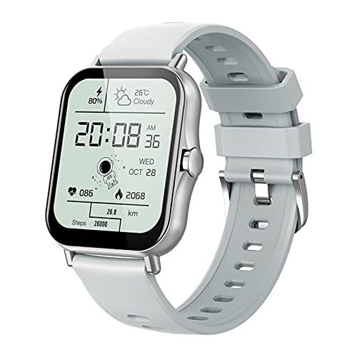 ZGLXZ Pulsera Inteligente De Deportes, 1.69 Pantalla Táctil Completa, Rastro del Corazón De La Ritmo Cardíaco Y La Sangre del Oxígeno De La Sangre, El Reloj Multi-Sport Smart Watch para Android iOS,D
