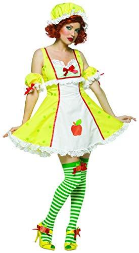 Adult Sexy Apple Dumpling Costume - Adult Std.